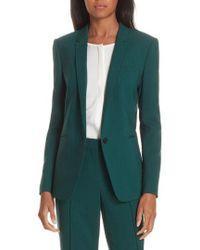 BOSS - Janufa Stretch Wool Suit Jacket - Lyst