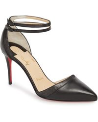 Christian Louboutin - Uptown Ankle Strap Pump - Lyst