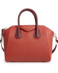65aa5c322fd Givenchy Antigona Medium Studded Satchel Bag in Black - Lyst