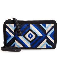 Mercado Global - Isa Woven Crossbody Bag - Lyst