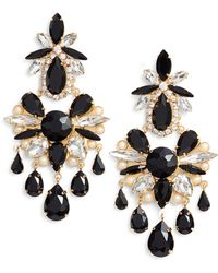 Kate Spade - Crystal Chandelier Earrings - Lyst