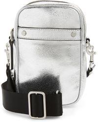 Treasure & Bond - Murphy Metallic Leather Crossbody Bag - - Lyst