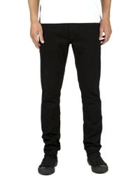 Volcom - 'solver' Tapered Jeans - Lyst