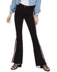 TOPSHOP - Moto Dia Flare Jeans - Lyst
