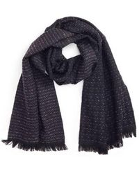 Canali - Dot Wool Blend Scarf - Lyst