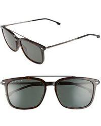 BOSS - 55mm Polarized Sunglasses - - Lyst