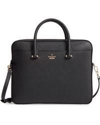 Kate Spade - Saffiano Leather Laptop Bag - - Lyst