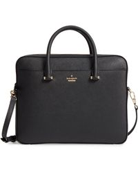 Kate Spade - Saffiano Leather Laptop Bag - Lyst