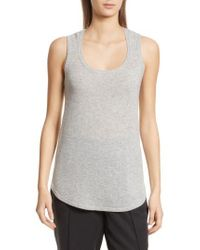 ATM - Cashmere Sweater Tank - Lyst