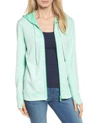 Tommy Bahama | Deux Reversible Front Zip Hoodie | Lyst