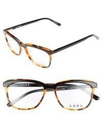 L.A.M.B. - 51mm Optical Square Glasses - Lyst