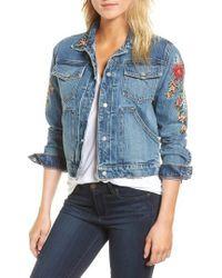 Hudson Jeans - Ren Denim Trucker Jacket - Lyst