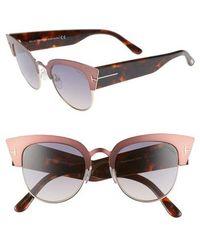 Tom Ford - Alexandra 51mm Sunglasses - Lyst