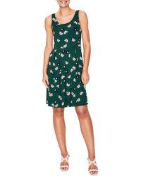 024bf64823b Boden Holly Handkerchief Hem Midi Dress in Blue - Save 41% - Lyst