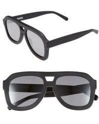 Valley Eyewear - 'forks' 54mm Aviator Sunglasses - - Lyst