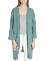 Eileen Fisher - Long Cashmere Cardigan - Lyst