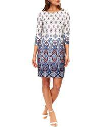 Wallis - Mykonos Shift Dress - Lyst