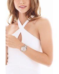 Michele - Sidney Chronograph Diamond Watch Head - Lyst
