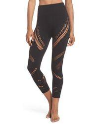 Alo Yoga | Seamless Radiance High Waist Capri Leggings | Lyst