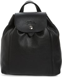 Longchamp - Extra Small Le Pliage Cuir Backpack - Lyst