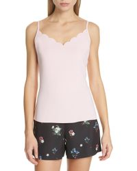 Ted Baker - Siina Scallop Camisole - Lyst