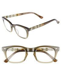 Corinne Mccormack - 'toni' 48mm Reading Glasses - Olive - Lyst