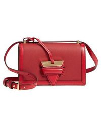Loewe - Small Barcelona Grainy Leather Crossbody Bag - Lyst