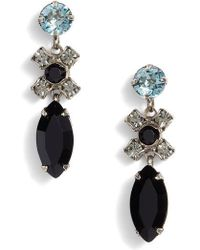 Sorrelli - Perfect Harmony Crystal Drop Earrings - Lyst