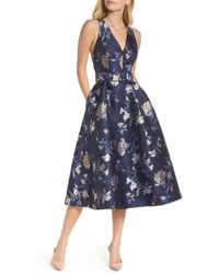 Nordstrom - 1901 Belted Fit & Flare Party Dress - Lyst