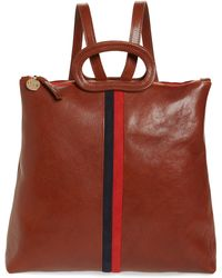 Clare V. - Marcelle Leather Backpack - - Lyst