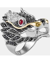 John Hardy - 'naga' Dragon Cocktail Ring - Lyst