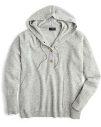 J.Crew - Everyday Cashmere Hoodie Sweater - Lyst