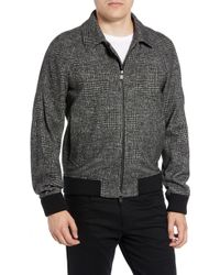 BOSS - T-cony Relaxed Fit Wool Blend Jacket - Lyst