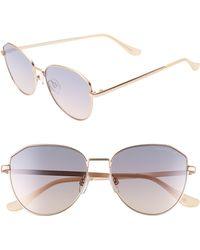 a1f6d4bdf2 Seafolly - Scarborough 55mm Aviator Sunglasses - Tan - Lyst