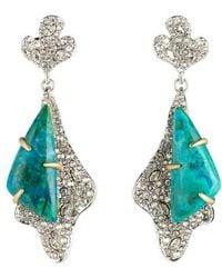 Alexis Bittar - Roxbury Crystal Encrusted Post Earrings - Lyst