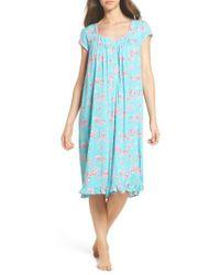 Eileen West - Jersey Waltz Nightgown - Lyst