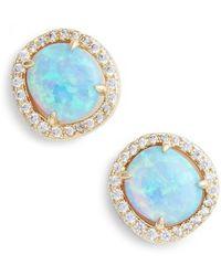 Melinda Maria - Sarah Louise Opal Stud Earrings - Lyst