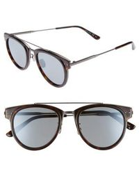 Bottega Veneta - 50mm Sunglasses - Avana - Lyst