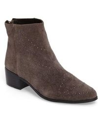 Grey City - Wendy Studded Bootie - Lyst