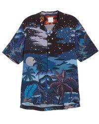 Paul Smith - Palm Tree Print Shirt - Lyst