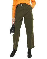 TOPSHOP   Combat Pocket Utility Trousers   Lyst