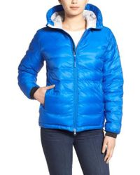Canada Goose | 'pbi Camp' Packable Hooded Down Jacket, Blue | Lyst