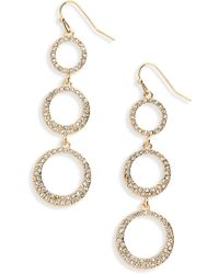 Shashi - Nikki Drop Earrings - Lyst