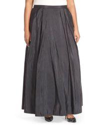 Alex Evenings - Taffeta Ballgown Skirt - Lyst