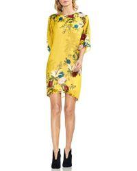 Vince Camuto - Floral-print Dress - Lyst
