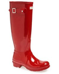 HUNTER - Original High Gloss Boot - Lyst