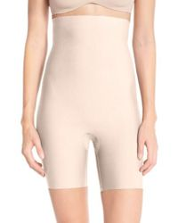Spanx - Spanx Thinstincts Mid Thigh Shorts - Lyst