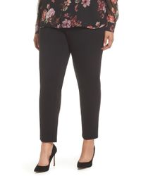 Vince Camuto - High Rise Ankle Skinny Ponte Pants - Lyst