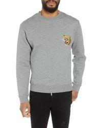 The Kooples - Regular Fit Tiger Sweatshirt - Lyst