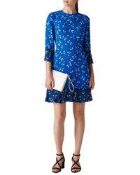 Whistles - Polly Spot Print Dress - Lyst